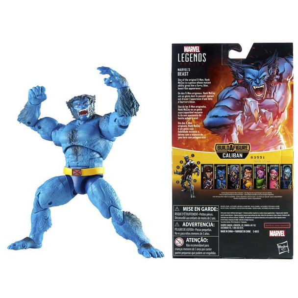 Marvel Legends Series 6-inch Collectible Action Figure Marvel's Beast Toy (X-Men Collection)
