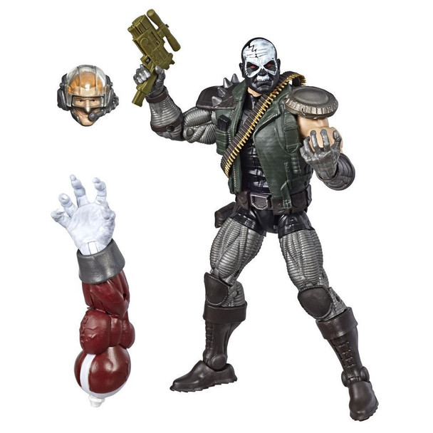 Marvel Legends Series 6-inch Collectible Action Figure Skullbuster Toy (X-Men Collection)