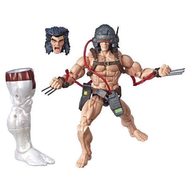 Marvel Legends Series 6-inch Collectible Action Figure Weapon X Toy (X-Men Collection)