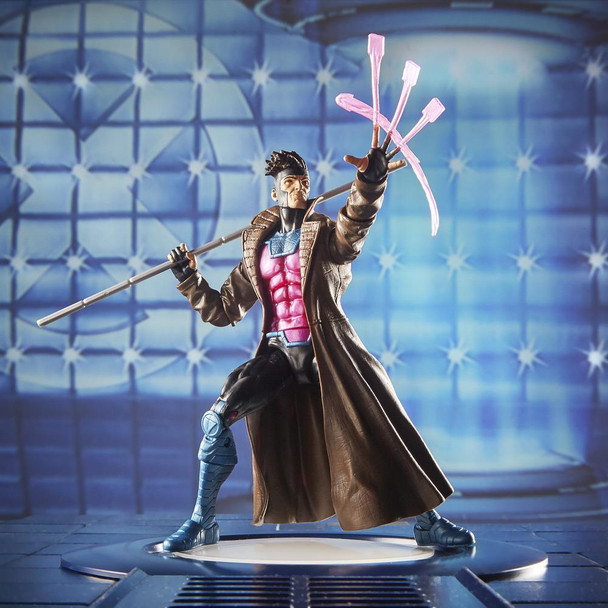 Marvel Legends Series 6-inch Collectible Action Figure Gambit Toy (X-Men Collection)