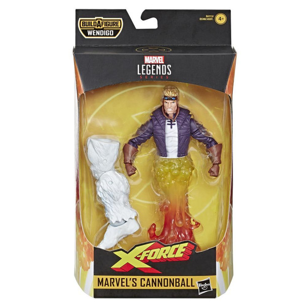 Marvel Legends Series 6-inch Collectible Action Figure Marvel's Cannonball Toy