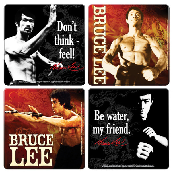 Bruce Lee Coaster 4-Pack