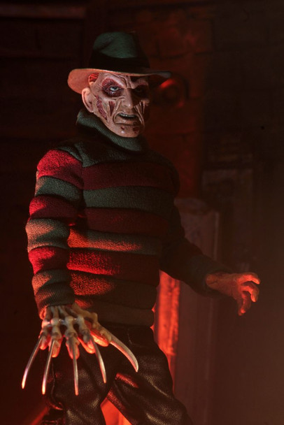 Nightmare on Elm Street Wes Cravens New Nightmare Freddy 8-Inch Cloth Action Figure