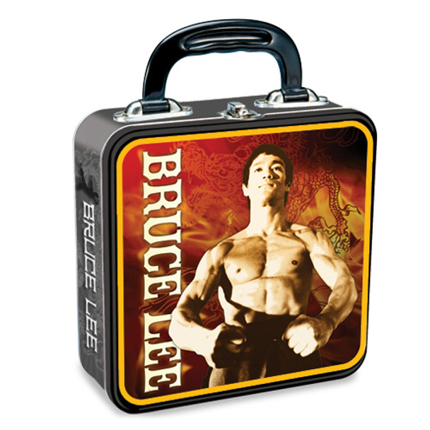 Bruce Lee Square Tin Tote