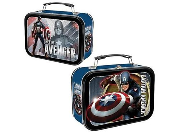 Captain America The First Avenger Extra Large Tin Tote