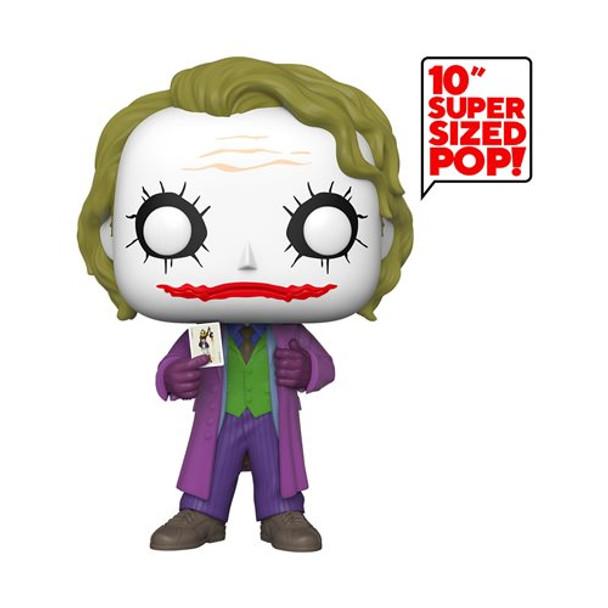 The Dark Knight Joker 10-Inch Pop! Vinyl Figure