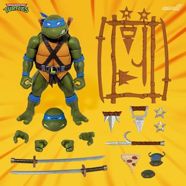 Teenage Mutant Ninja Turtles Ultimates Leonardo 7-Inch Action Figure