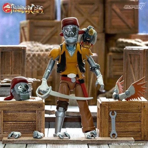 [PRE-ORDER] ThunderCats Ultimates Captain Crackers 7-Inch Action Figure