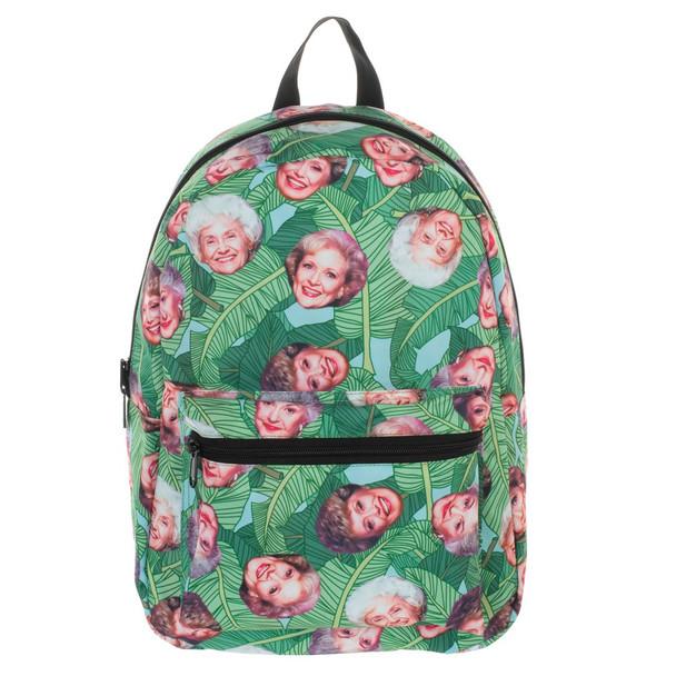 Golden Girls Tropical Heads Backpack