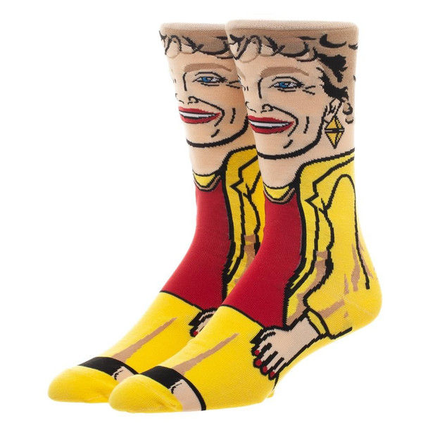 Golden Girls Blanch 360 Crew Socks