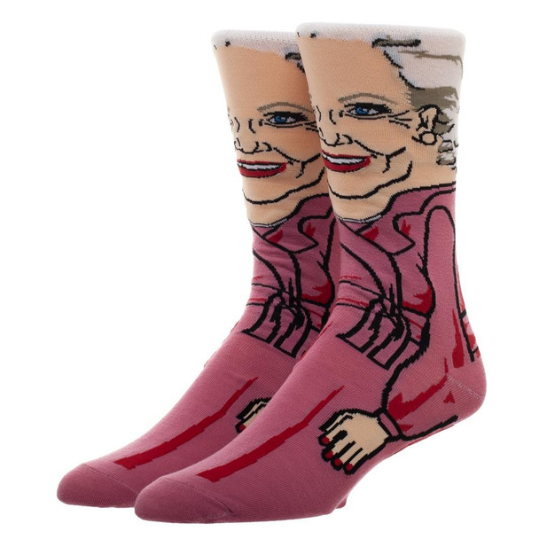 Golden Girls Rose 360 Crew Socks