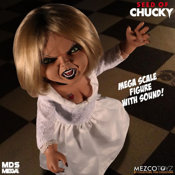 Child's Play Seed of Chucky Tiffany Mega-Scale with Sound 15-Inch Doll (Not Mint)