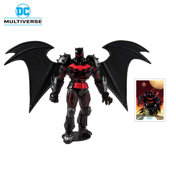 DC Armored Wave 1 Batman Hellbat Suit 7-Inch Action Figure