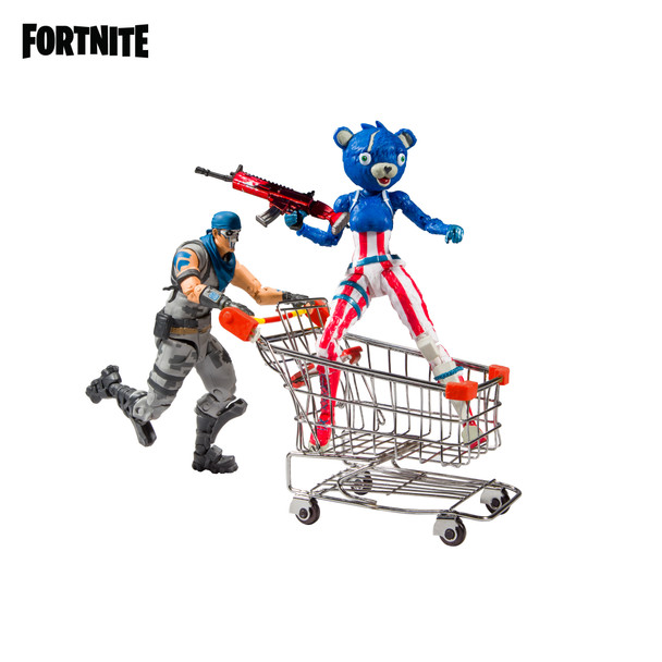 Fortnite Shopping Cart Pack #1 Action Figure Bundle 2-Pack