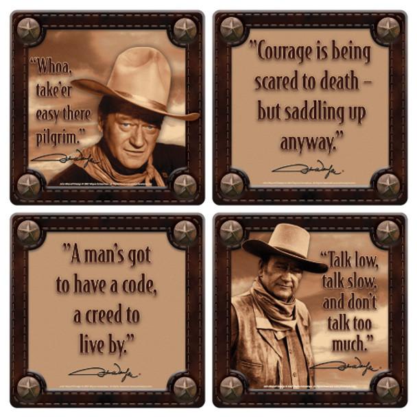 John Wayne Coaster 4-Pack