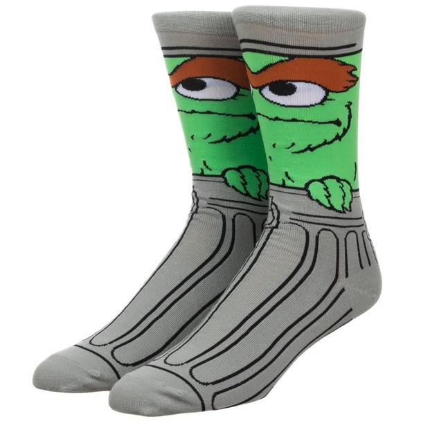 Oscar the Grouch 360 Character Crew Socks