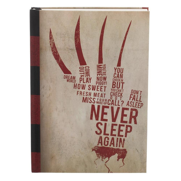 Nightmare on Elm Street Hardcover Journal