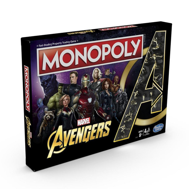 Monopoly Marvel Avengers Edition Board Game
