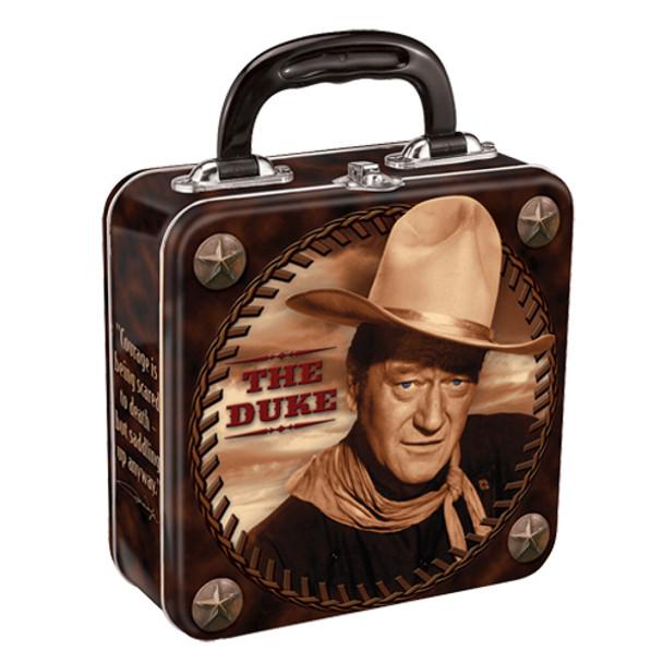 John Wayne Square Tin Tote
