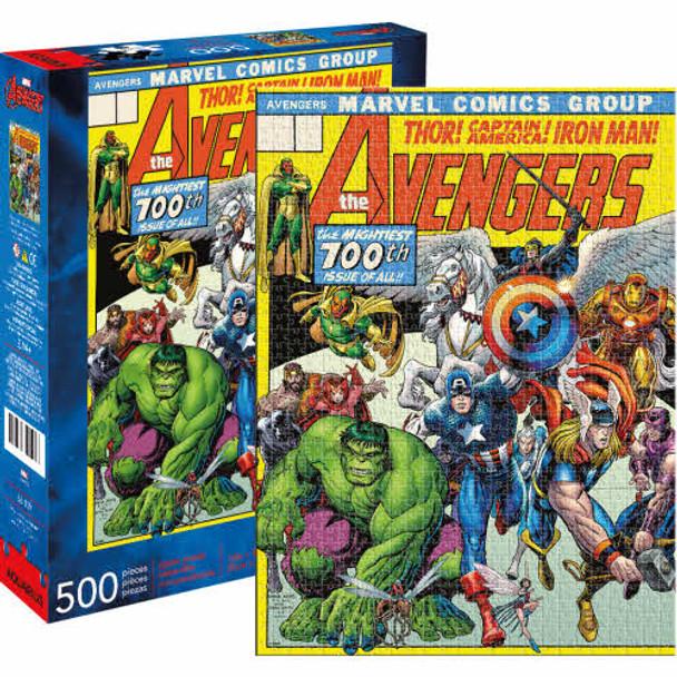 Avengers Cover 500-Piece Puzzle