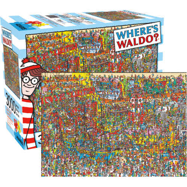 Where's Waldo 3,000-Piece Puzzle