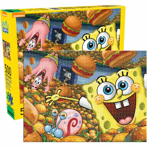 SpongeBob SquarePants 500-Piece Puzzle