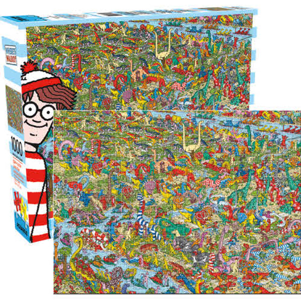 Where's Waldo Dinosaurs 1,000-Piece Puzzle
