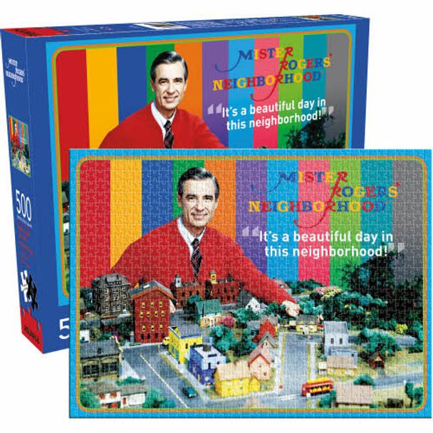 Mr Rogers 500-Piece Puzzle
