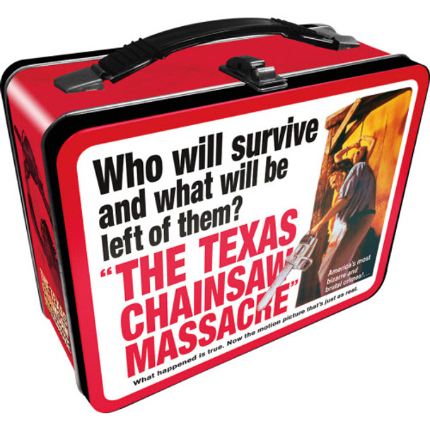 Texas Chainsaw Massacre Gen 2 Fun Box Tin Tote