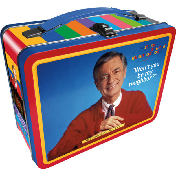Mr. Rogers Gen 2 Fun Box Tin Tote