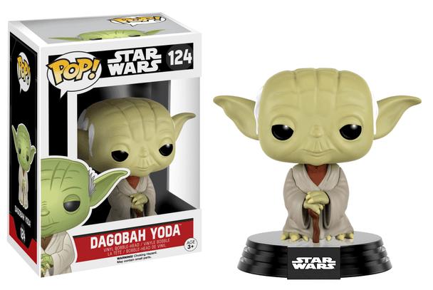 Star Wars Dagobah Yoda Pop! Vinyl Bobble Head