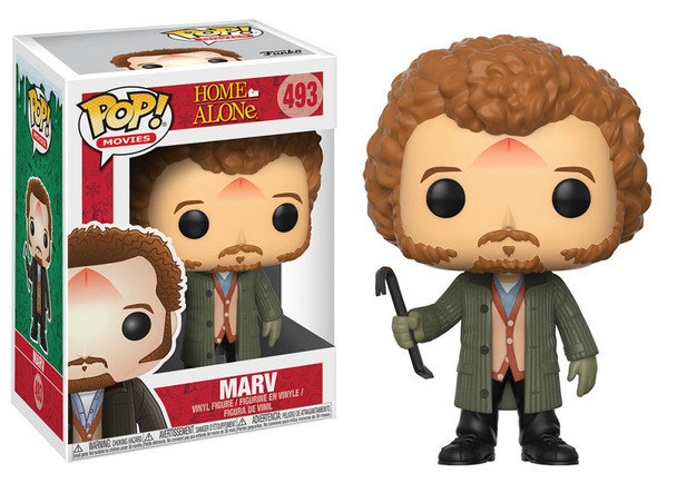 Home Alone Marv Pop! Vinyl Figure #493 (Not Mint)