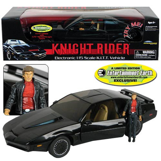 EE Exclusive Knight Rider KITT Vehicle with Michael Knight - Not Mint