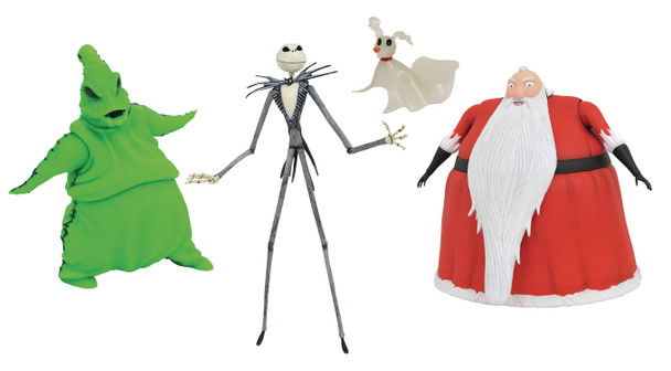 Nightmare Before Christmas Lighted Action Figure Box Set - San Diego Comic-Con 2020 Previews Exclusive