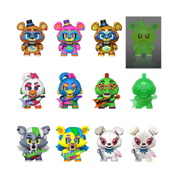 Five Nights at Freddy's: Security Breach Mystery Minis Random 4-Pack