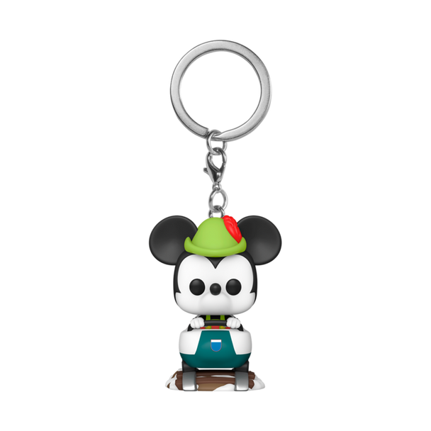 Funko Disney 65th Matterhorn Attraction And Mickey Mouse POP! Keychain