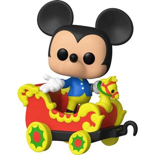 Funko Disney 65th Disneyland Casey Jr. Car 3 with Mickey Pop! Train