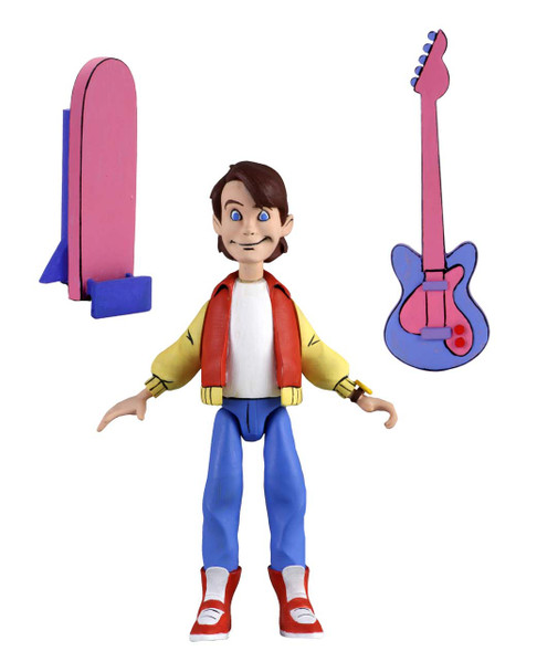 NECA Back to the Future TAS Toony Classics Marty McFly 6-Inch Figure