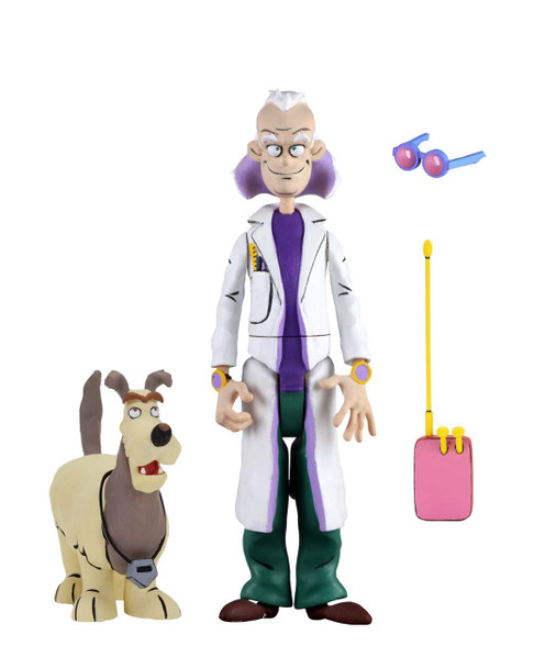 NECA Back to the Future TAS Toony Classics Doc Brown 6-Inch Figure (Not Mint)