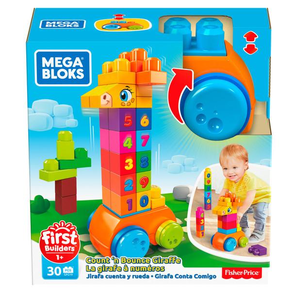 Mega Bloks First Builders Count & Bounce Giraffe
