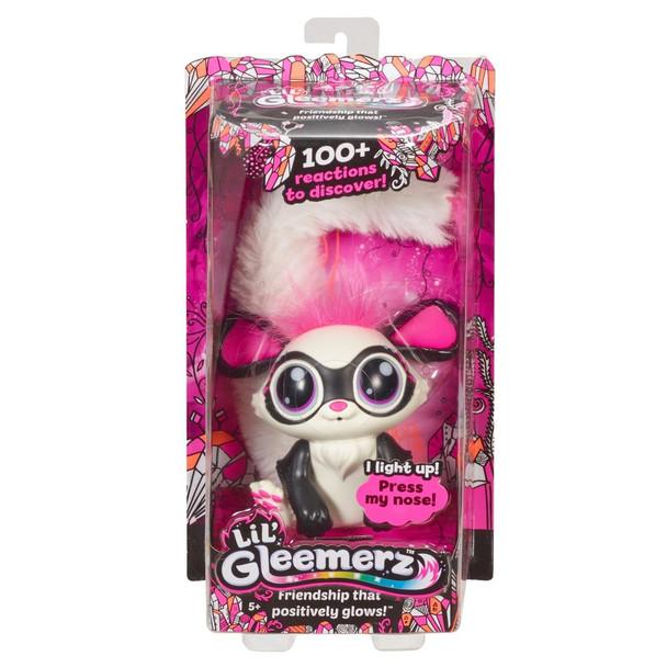 Lil' Gleemerz Glowzer Furry Friend, Light Up Interactive Talking Toy