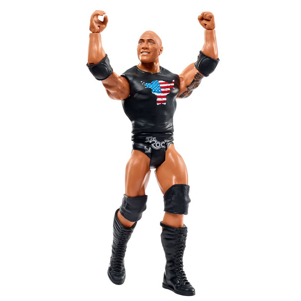 WWE Basic Collection Wave 2 2020 Top Picks The Rock Figure