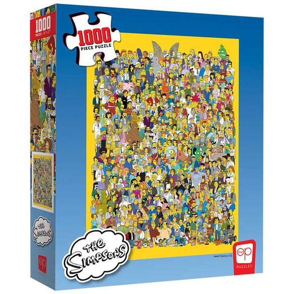 "The Simpsons ""Cast of Thousands"" 1000 Piece Puzzle"