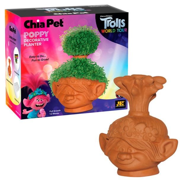 Trolls World Tour Poppy Chia Pet