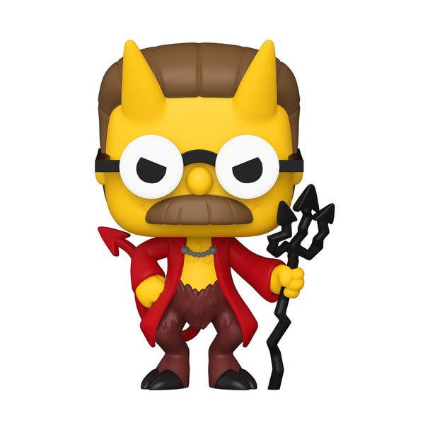 Funko The Simpsons Devil Flanders Pop! Vinyl Figure