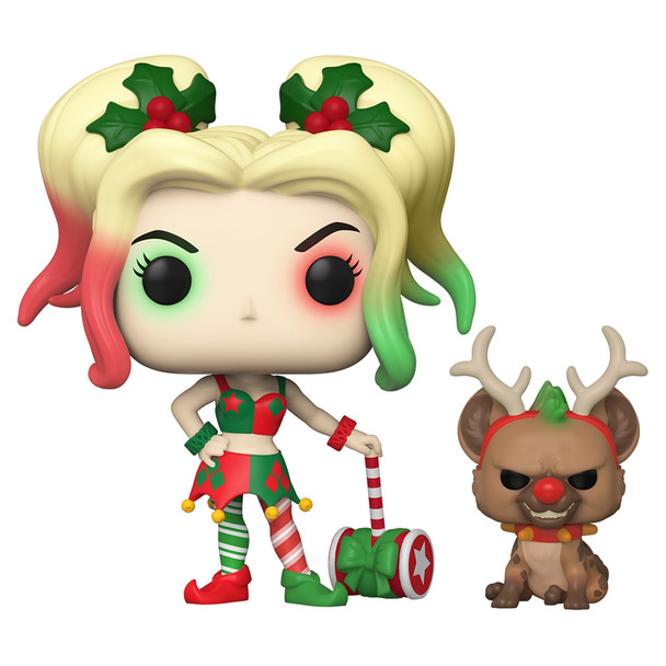 Funko Harley Quinn With Helper Pop! Vinyl Figure