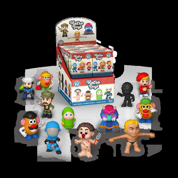 Funko Retro Toys Hasbro Mystery Minis Mini-Figure Random 4-Pack