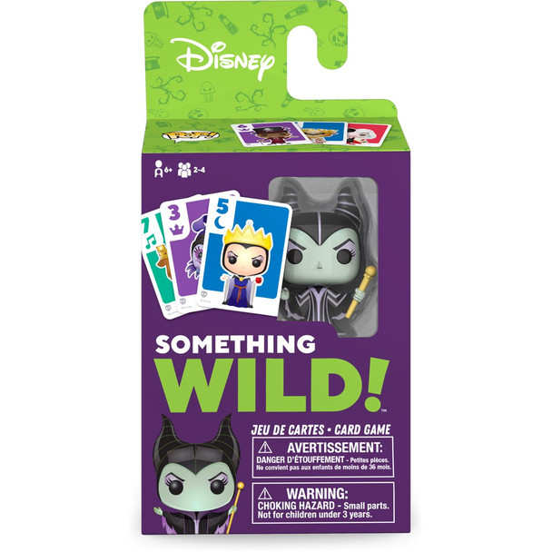 Funko Disney Villains Something Wild Pop! Card Game - English / French Edition