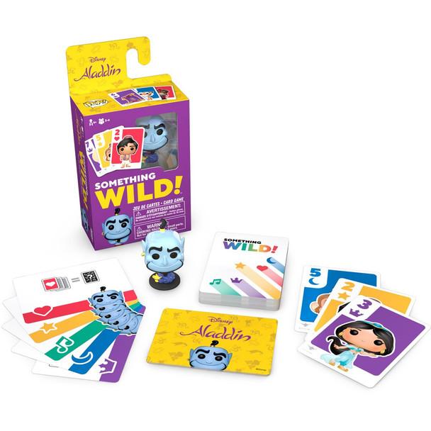 Funko Aladdin Something Wild Pop! Card Game - English / French Edition