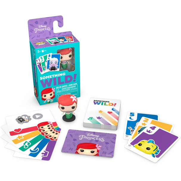 Funko The Little Mermaid Something Wild Pop! Card Game - English / French Edition